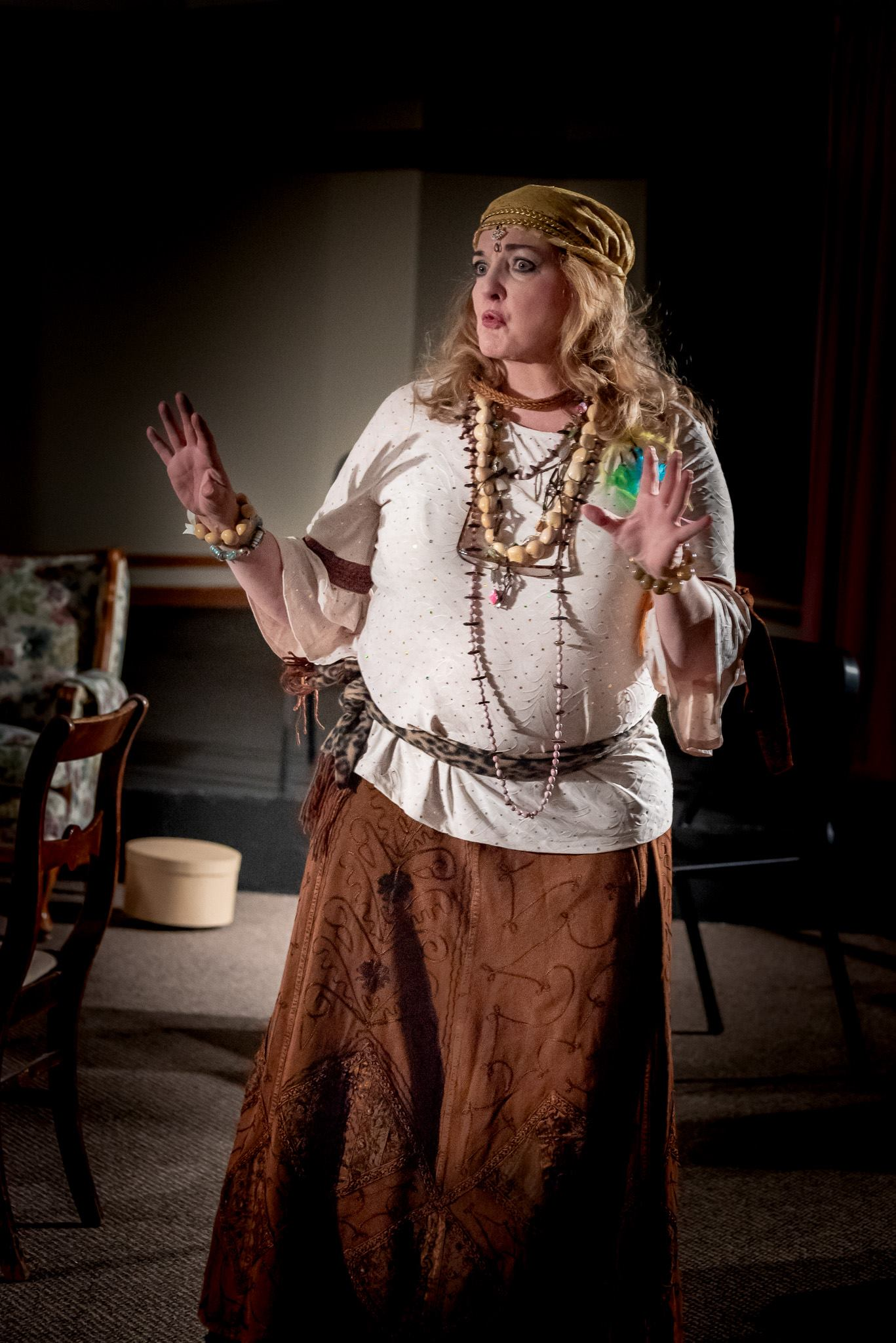 CHERYL PASKINS AS MADAME ARCATI